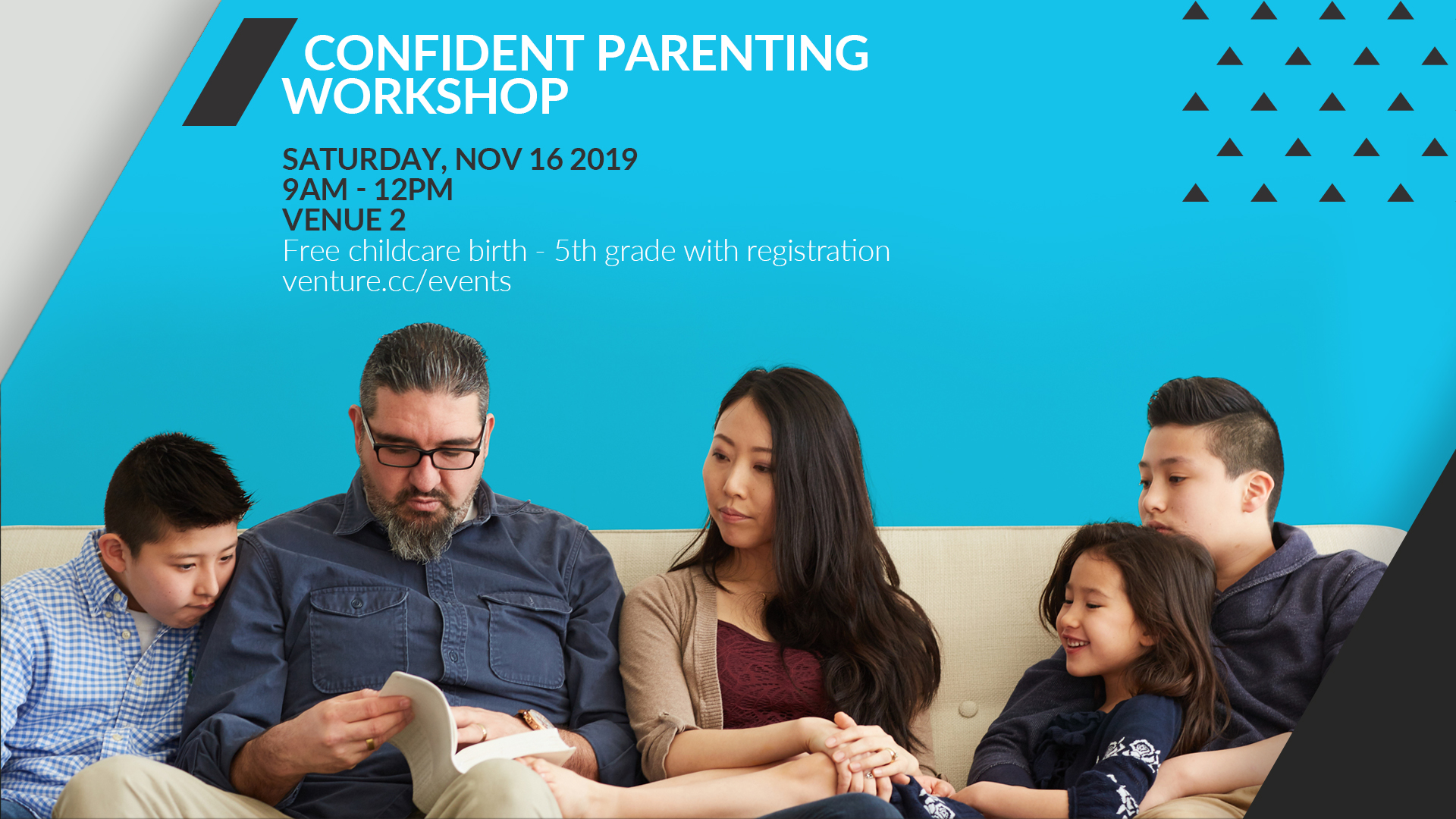 Link to Confident Parenting Workshop page at https://venture.cc/events/event-detail/rockevents/97/130/